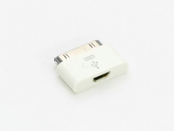 Micro USB to Apple 30Pin�౵�Y(�A��iPod/iPhone/iPad)(iPod-MICRO)