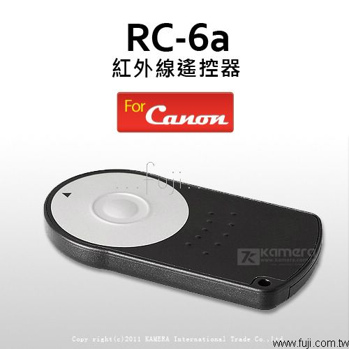 CANON用RC-6a 紅外線遙控器(For Canon_RC-5a 改良新版本)(RC-6aL)