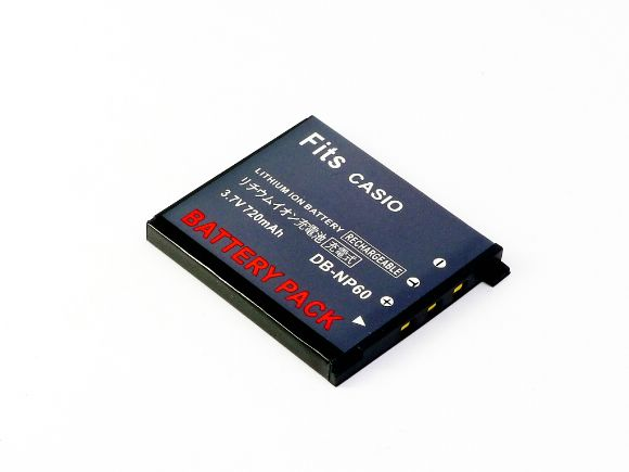 CASIO卡西歐用NP-60充電式鋰電池(NP-60)
