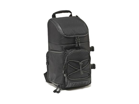 TENBA天霸Shootout Photo Sling Bag Small單肩背包(全黑)(#632-643 black/black)