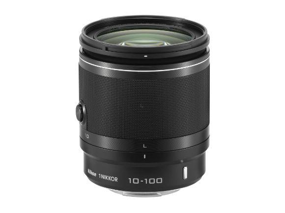 NIKON 原廠1 NIKKOR VR 10-100mm f/4-5.6鏡頭(黑色)(1 NIKKOR VR 10-100mm f/4-5.6B)
