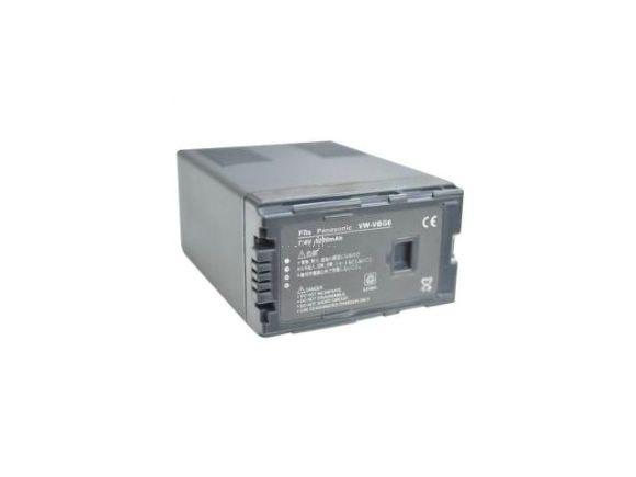 Panasonic用VW-VBG6/ AG-BPS581長效充電鋰電池(VW-VBG6L)