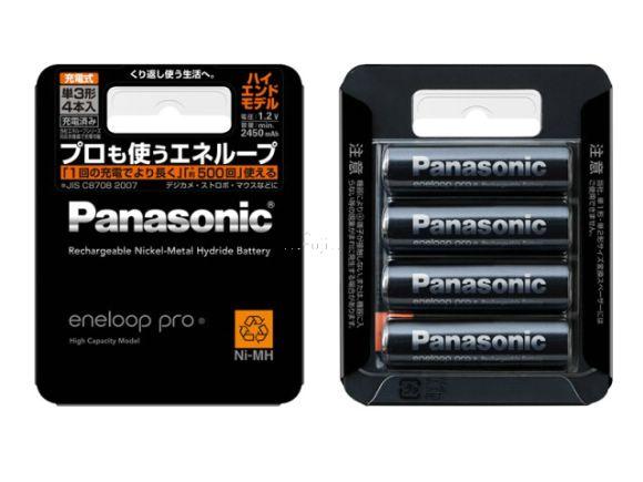 Panasonic國際/松下原廠Eneloop PRO三號低自放電充電電池(總代理公司貨.4只裝) (BK3HCC)
