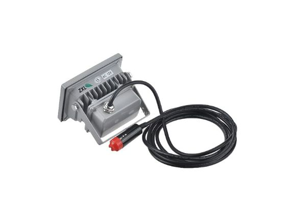 10W防雨全天候暖白光高亮度12V DC投光燈(點菸頭)(L10WIP65WWDC)
