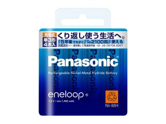 Panasonic國際牌2100次eneloop低自放電三號電池(總代理公司貨.4只裝)(BK-3MCC/4)