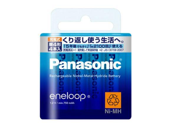 Panasonic國際牌2100次eneloop低自放電四號電池(總代理公司貨.40只裝)(BK-4MCC/40)
