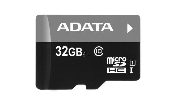 ADATA威剛Premier microSDHC UHS-I 32G記憶卡(AUSDH32GUICL10-RA1)