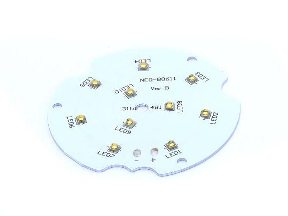 10~30W LED暖白光模組(使用10顆OSRAM原裝晶片)(OSLON-SSL-WW)