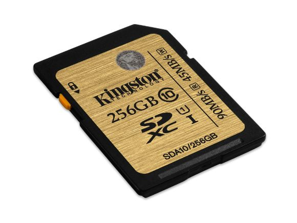 KINGSTON金士頓UHS-I Ultimate 256GB SDXC高速記憶卡(SDA10/256GB)