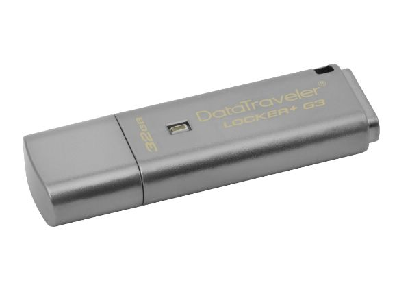 KINGSTON金士頓DataTraveler Locker+G3硬體加密32GB隨身碟(DTLPG3/32GB)