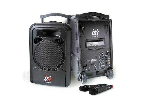 UR-SOUND雙頻CD/USB/SD移動式無線擴音機 PA9223N (雙麥克風)(PA9223N)