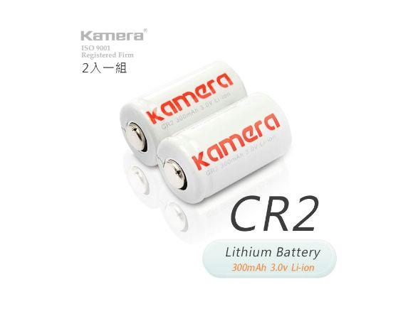Kamera可充式CR2電鋰電池(2入)(CR2K)