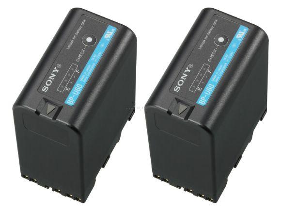 SONY原廠2BP-U60原廠超長效電池組(BP-U60兩顆)(2BP-U60)