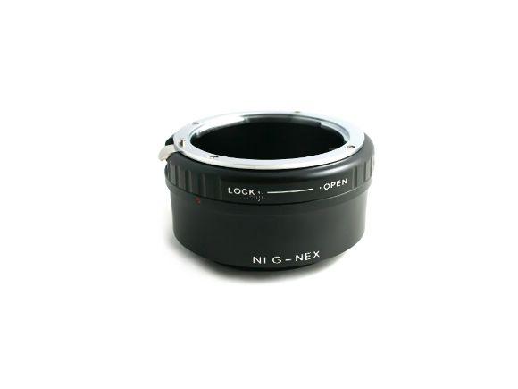 NEX用NIKON G鏡頭異機身轉接環(可調光圈/NEX機身用)(CAR-NEX-G)