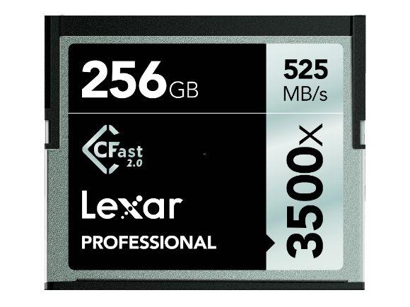 LEXAR雷克莎256GB Professional 3500x CFast 2.0記憶卡(LC256CRBNA3500)