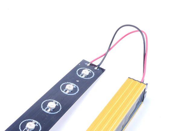 12 LED植物燈二呎套件(含專用定電流電源、鋁基板)(DIY-GLKIT-1260)