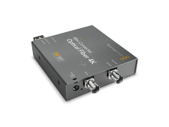 Blackmagic Design專業Mini Converter Optical Fiber 4K迷您光纖轉換器(Mini Converter Optical Fiber 4K)