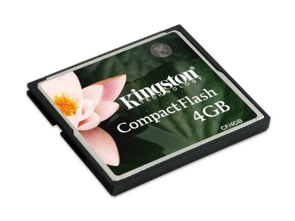 KINGSTON金士頓4GB(CompactFlash)CF記憶卡