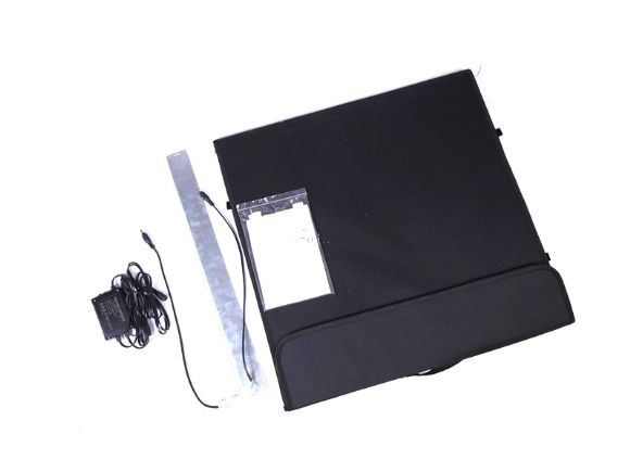 HAKUTATZ 60CM 60顆x2高亮度攜帶式LED攝影棚(TB-600C)