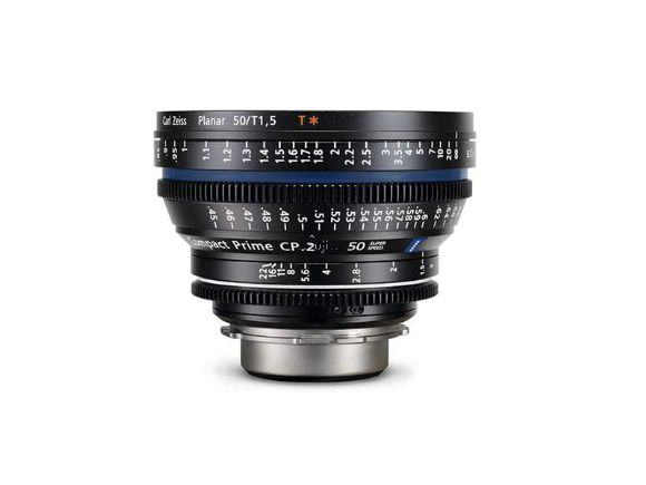 ZEISS蔡司Compact Prime CP.2 50mm/T1.5 Super Speed電影鏡頭(公司貨)(CP.2 50mm/T1.5 Super Speed)