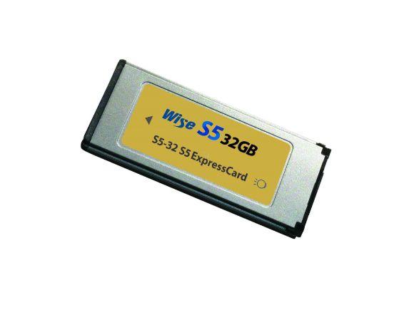 Wise裕拓32GB高速S5+ Express Card記憶卡(S5+-32)