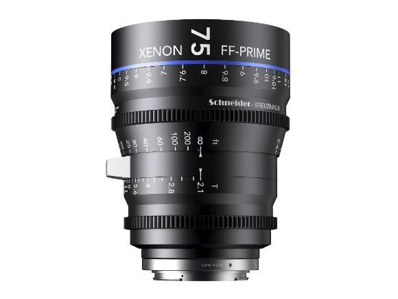 德國Schneider施奈德Xenon FF Prime T2.1 75mm電影鏡頭(Xenon FF-Prime T2.1 / 75)
