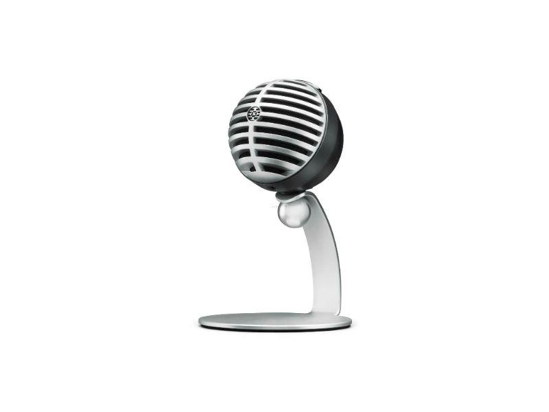 SHURE舒爾MOTIV MV5數位電容麥克風(灰色/總代理公司貨)(MV5/A-LTG-A)