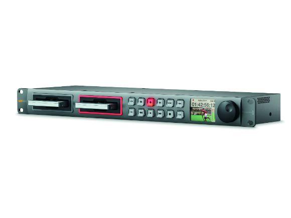 Blackmagic Design專業HyperDeck Studio 12G固態硬碟錄影機(不含SSD)