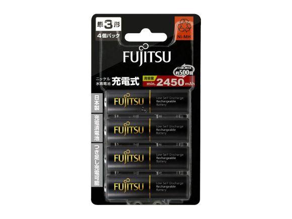 日製Fujitsu低自放電AA三號鎳氫充電電池(40顆裝)(HR-3UTHC(4B))
