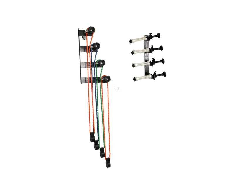 手動四軸背景架 (含鏈輪、膨脹棒、吊墜)(NG-4W)