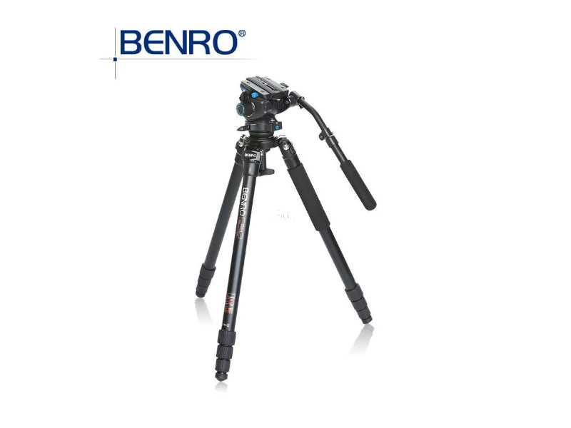 BENRO百諾A373TS6鎂鋁合金碗公型攝影腳架套組(A373TS6)