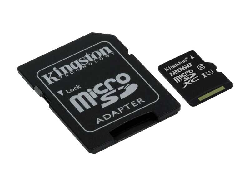 KINGSTON金士頓128GB Canvas Select microSDXC記憶卡(SDCS/128GB)