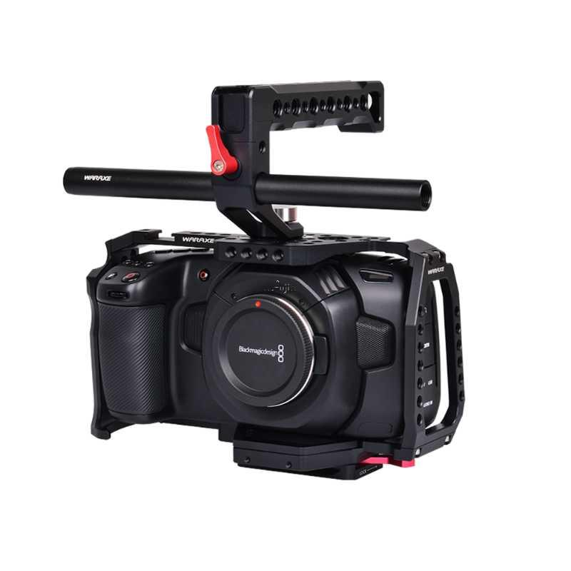 BMPCC 4K專用攝影兔籠/承架豪華組(全籠+提把)(4551)