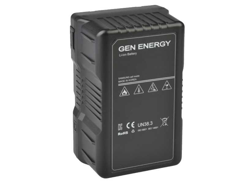 GenEnergy韓國V-Mount電池(G-B100/290W)(G-B100/290W)