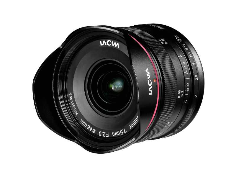 LAOWA老蛙Laowa 7.5mm f/2 MFT鏡頭(輕量版)(Laowa 7.5mm f/2 MFT Lightweight)