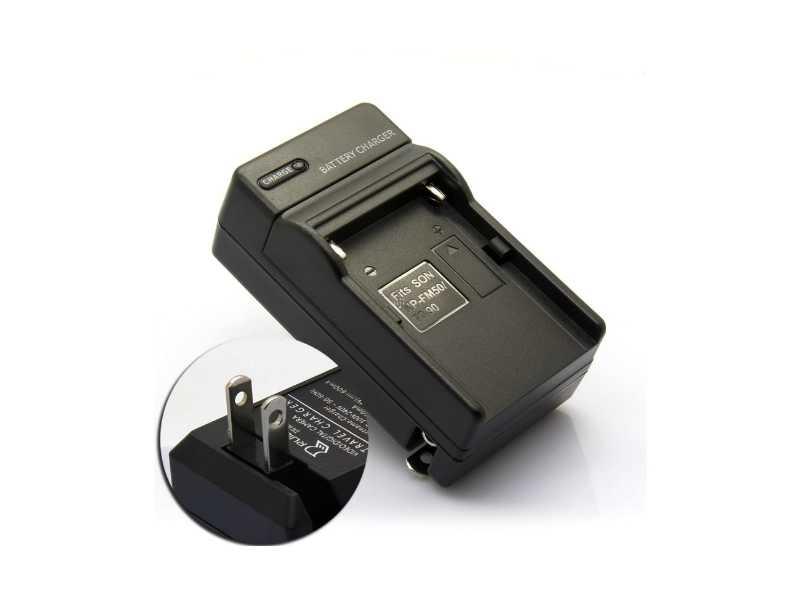 SONY用L型/M型通用充電器(NP-F/QM/FM電池用)