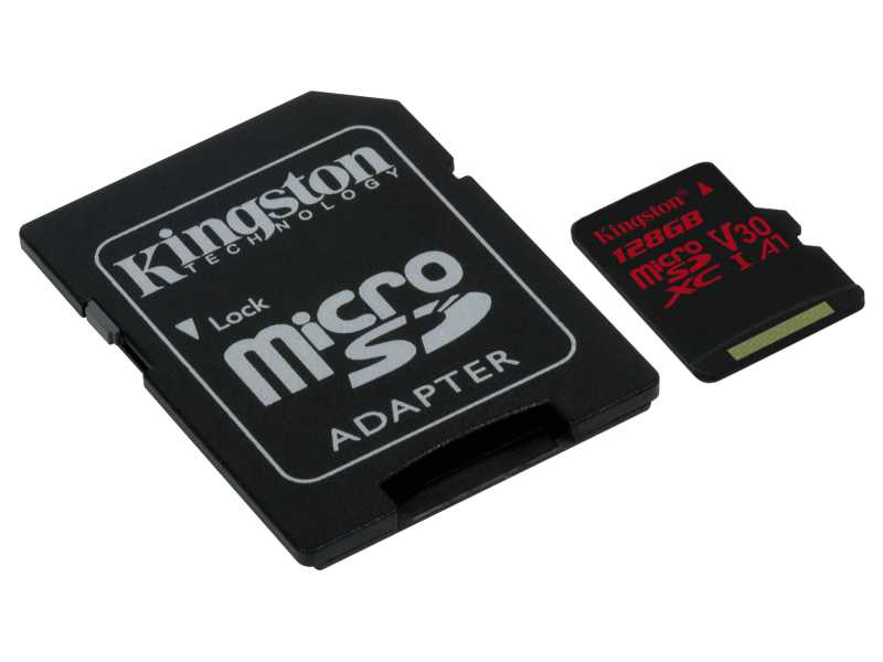 KINGSTON金士頓Canvas React microSDXC記憶卡(128GB)(SDCR/128GB)