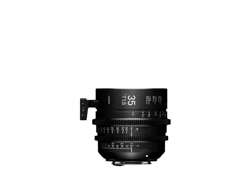 SIGMA適馬35mm T1.5 FF高速定焦電影鏡頭(公司貨)(35mm T1.5 FF)