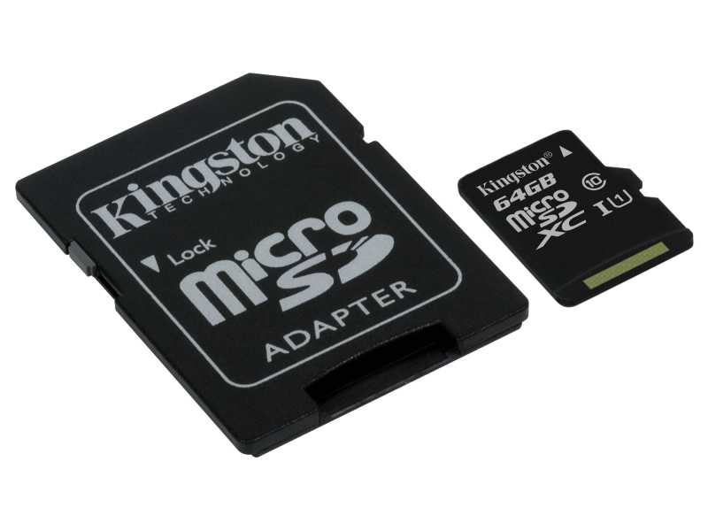KINGSTON金士頓64GB Canvas Select microSDXC記憶卡(SDCS/64GB)