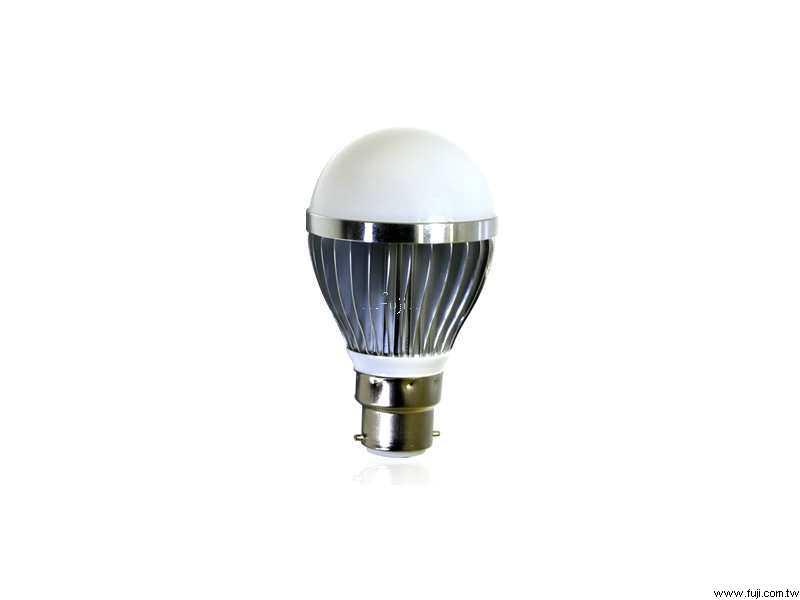 超省電3LEDs High-power 白光LED燈(B22)(清倉品)(3LB/B22)