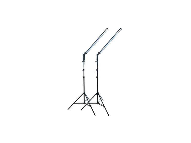 長條光源可調光LED攝影燈雙燈套組(2盞)(HLED60)