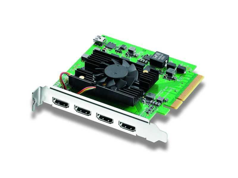 BMD專業DeckLink Quad HDMI Recorder擷取卡(DeckLink Quad HDMI Recorder)