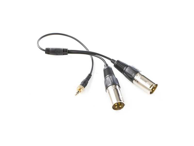 Saramonic楓笛SR-UM10-C35無線麥克風雙XLR輸出轉接線(SR-UM10-CC1)