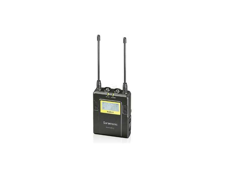 Saramonic楓笛UwMic9(RX9)無線麥克風接收器(公司貨)