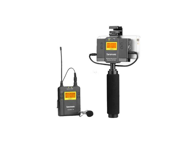 Saramonic楓笛UwMic9 Kit12一對一無線麥克風套裝(公司貨)(UwMic9 Kit12 (SP-RX9+TX9))