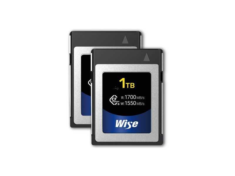 Wise裕拓1TB超高速CFexpress記憶卡(兩片裝 1700 MB/s)(KCX-B1024)