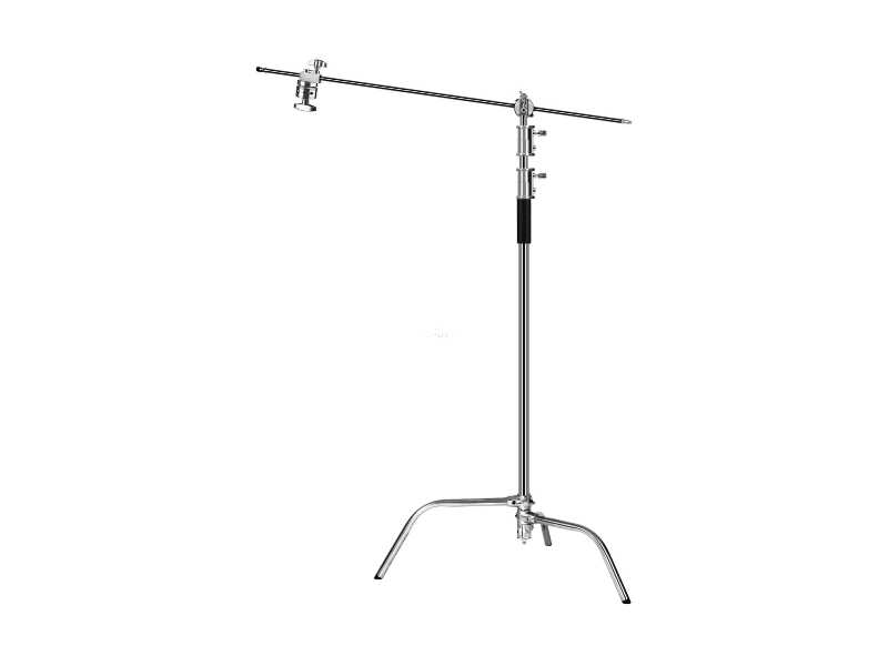 40吋大型斜臂C-Stand不�袗�魔術腿燈架組/電影燈架(LA2030D)
