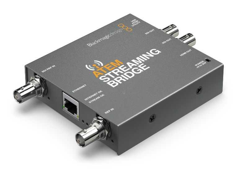 BMD專業ATEM Streaming Bridge串流轉換器(解碼器)(H264 Pro Recorder)
