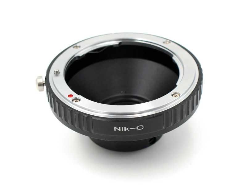 NIKON F接頭鏡頭轉接C-Mount機身轉接環(NIK-C)