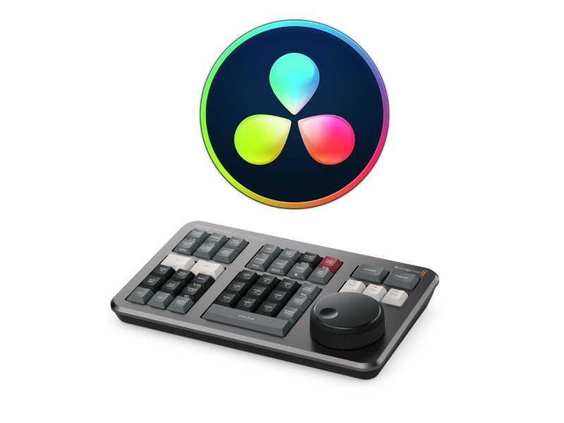 達文西DaVinci Resolve Studio調色剪輯軟體(Dongle版、含鍵盤)(DaVinci Resolve Dongle Speed Editor Bundle)